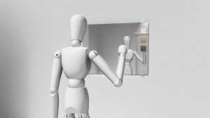 Der Spiegel als Navigations-Einheit